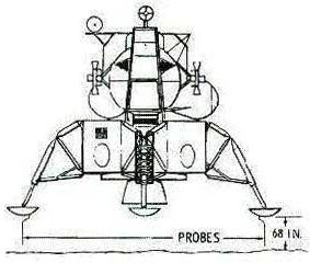 drawing apollo 11 moon lander - photo #45